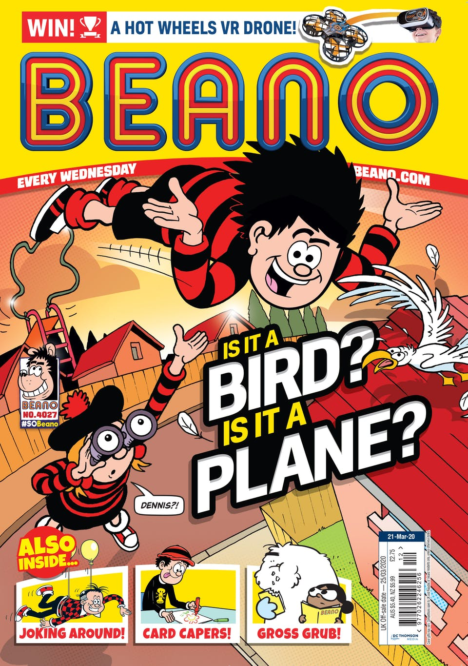 Inside Beano 4027 - Is It A Bird? Is It A Plane?