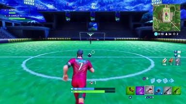 Football in Fortnite
