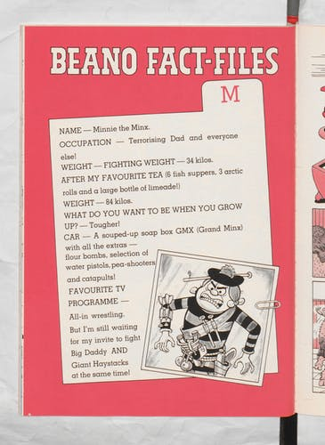 Minnie the Minx Beano Book 1987 Annual