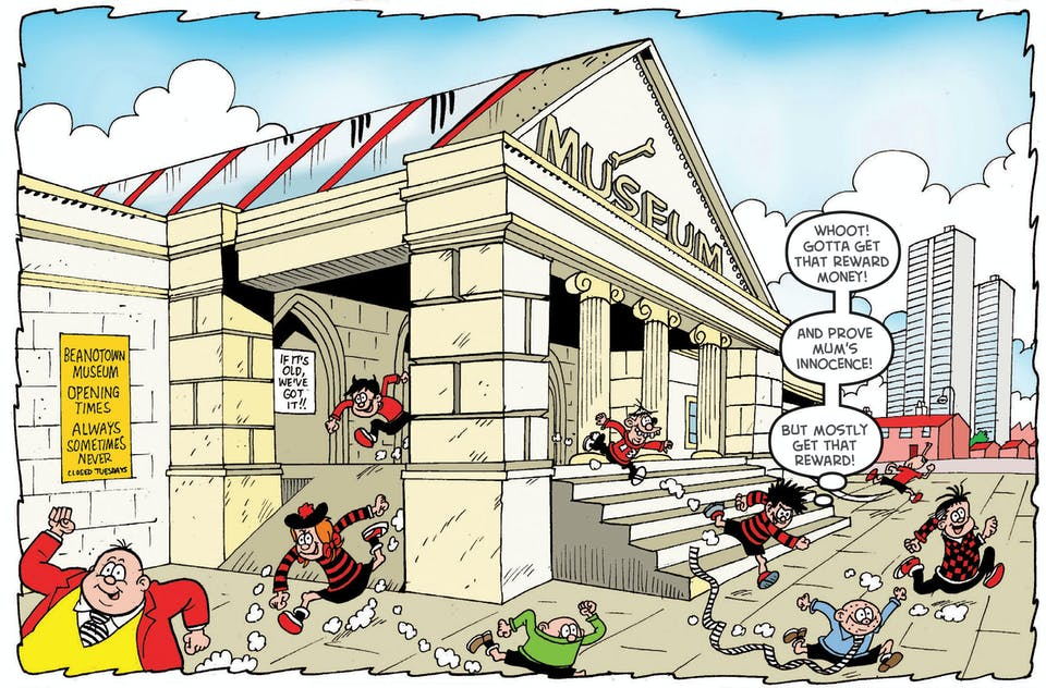 Dennis the Menace, Beano Summer Activity Special 2017