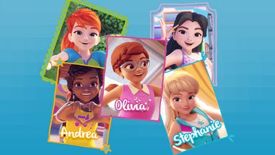 Personality Quiz Olivia Mia Andrea Which Lego Friend Are You