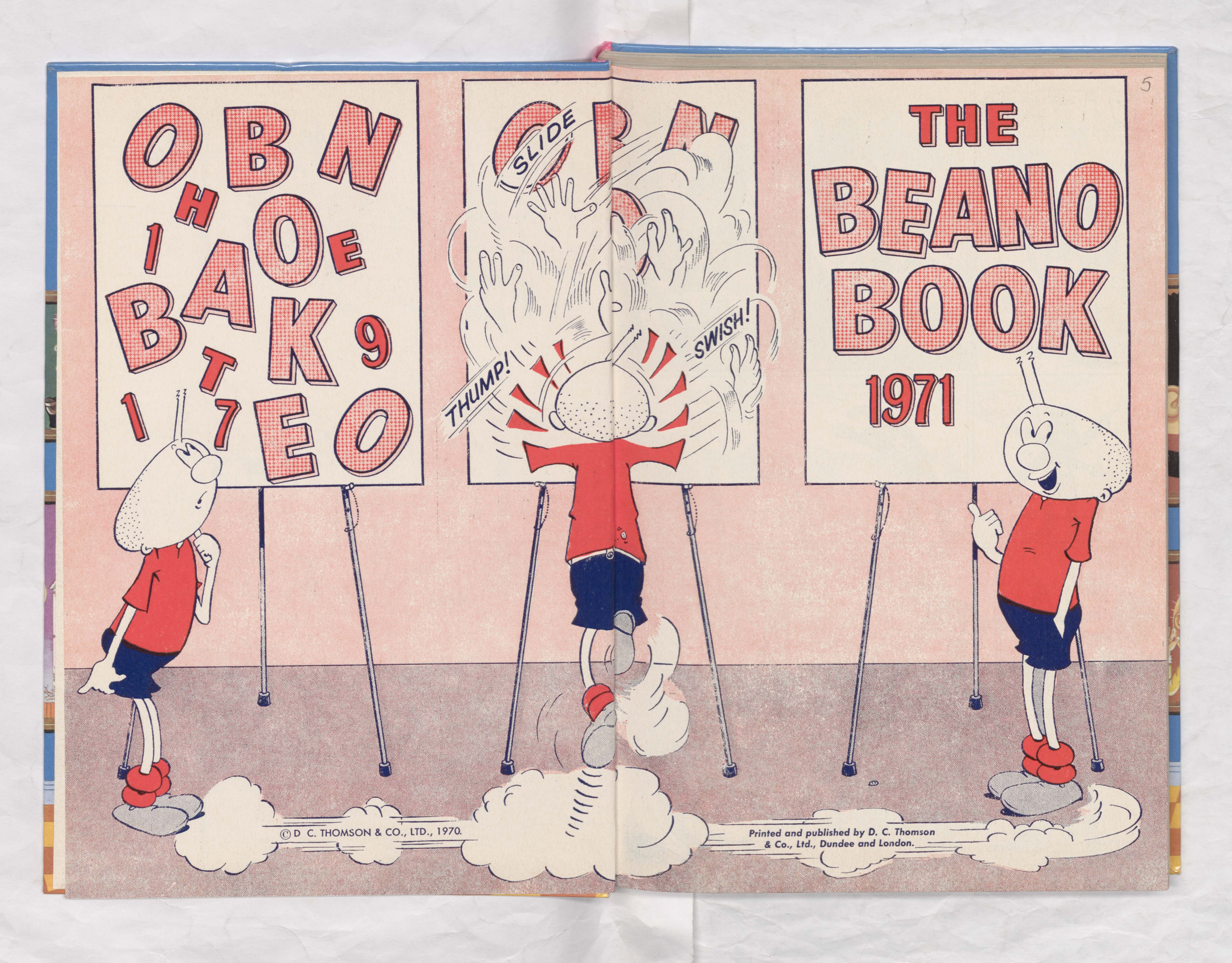 Beano Book 1971 - Billy Whizzspeeds a conundrum
