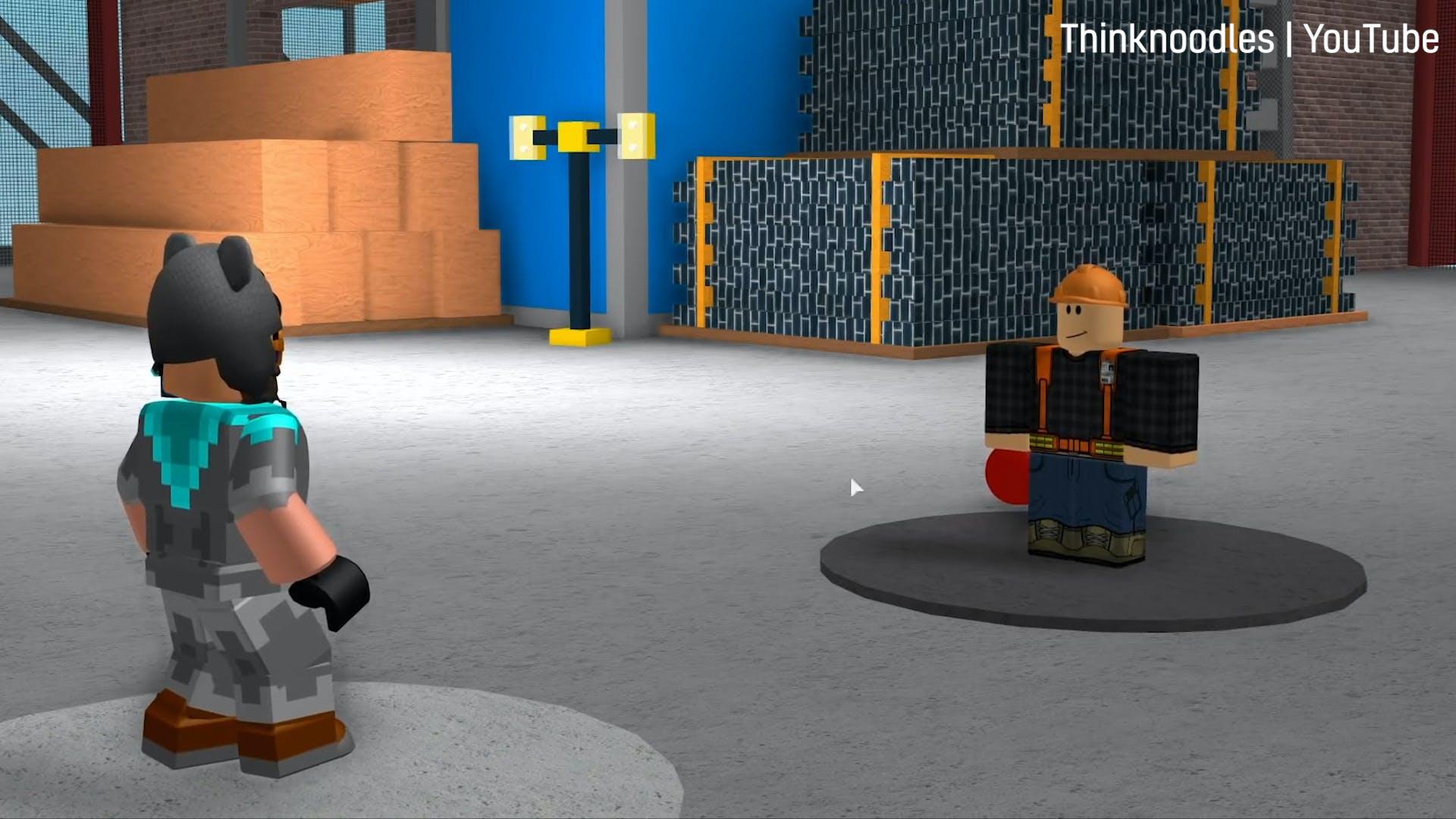The best games on Roblox: Pokemon Brick Bronze screenshot