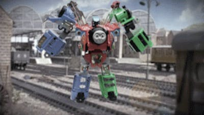 Watch What Happens When We Turn Thomas The Tank Engine