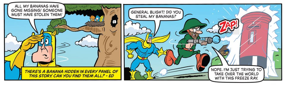 Inside Beano 4034 - Bananaman