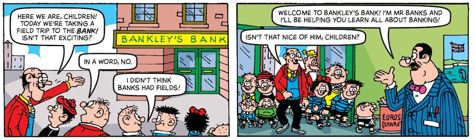 Inside Beano 4005 - Bash Street Kids