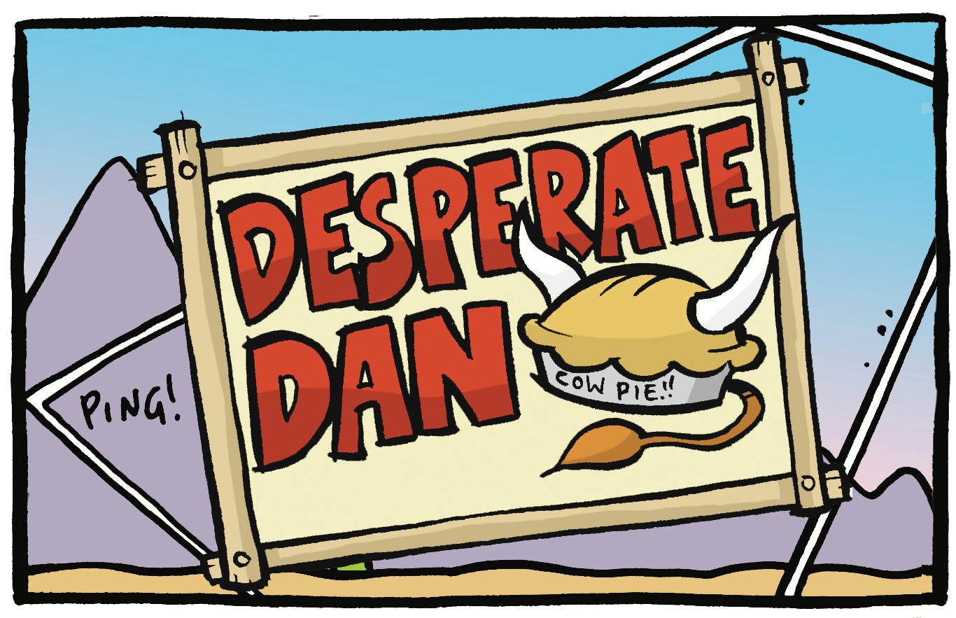 Desperate Dan by Jamie Smart