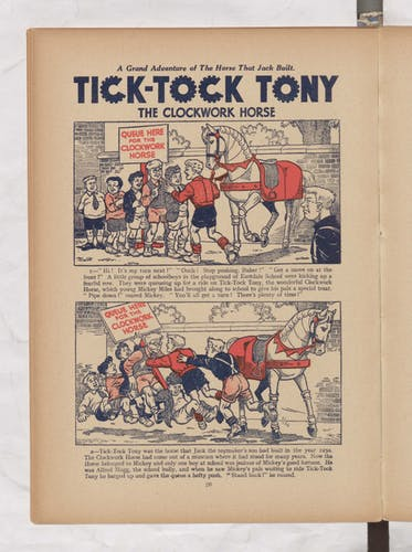 tick tock tony beano book 1952 annual