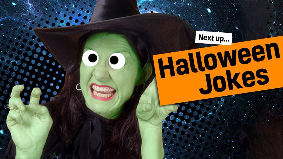 Next up: Halloween jokes