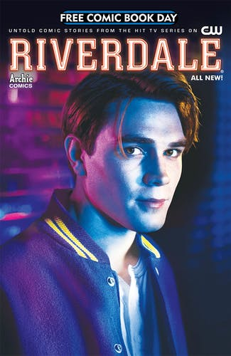 Riverdale free comic cover