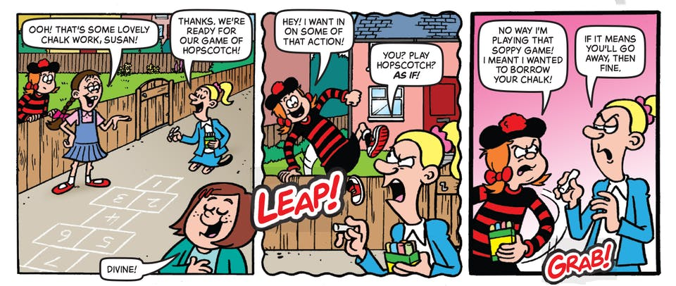 Inside Beano 3987 - Minnie the Minx