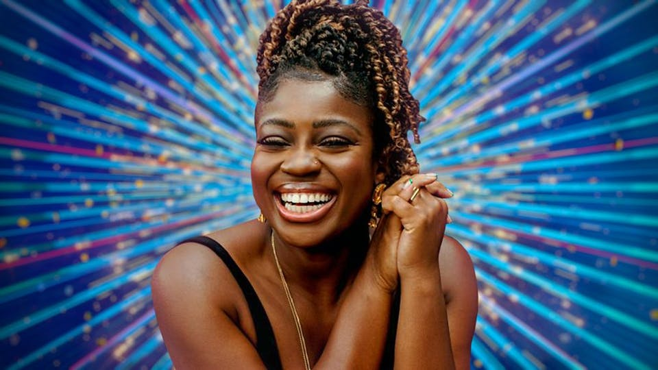 Clara Amfo on Strictly Come Dancing