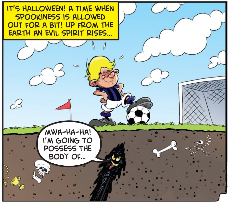 Ball Boy and the Evil Spirit
