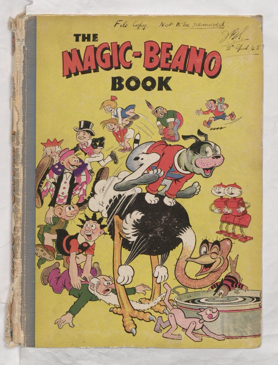 1945 Magic-Beano Book - Annual Cover
