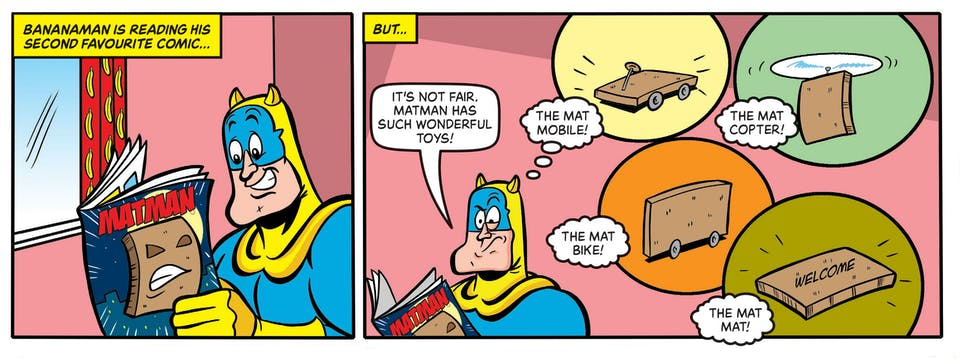 Inside Beano no. 4040 - Bananaman