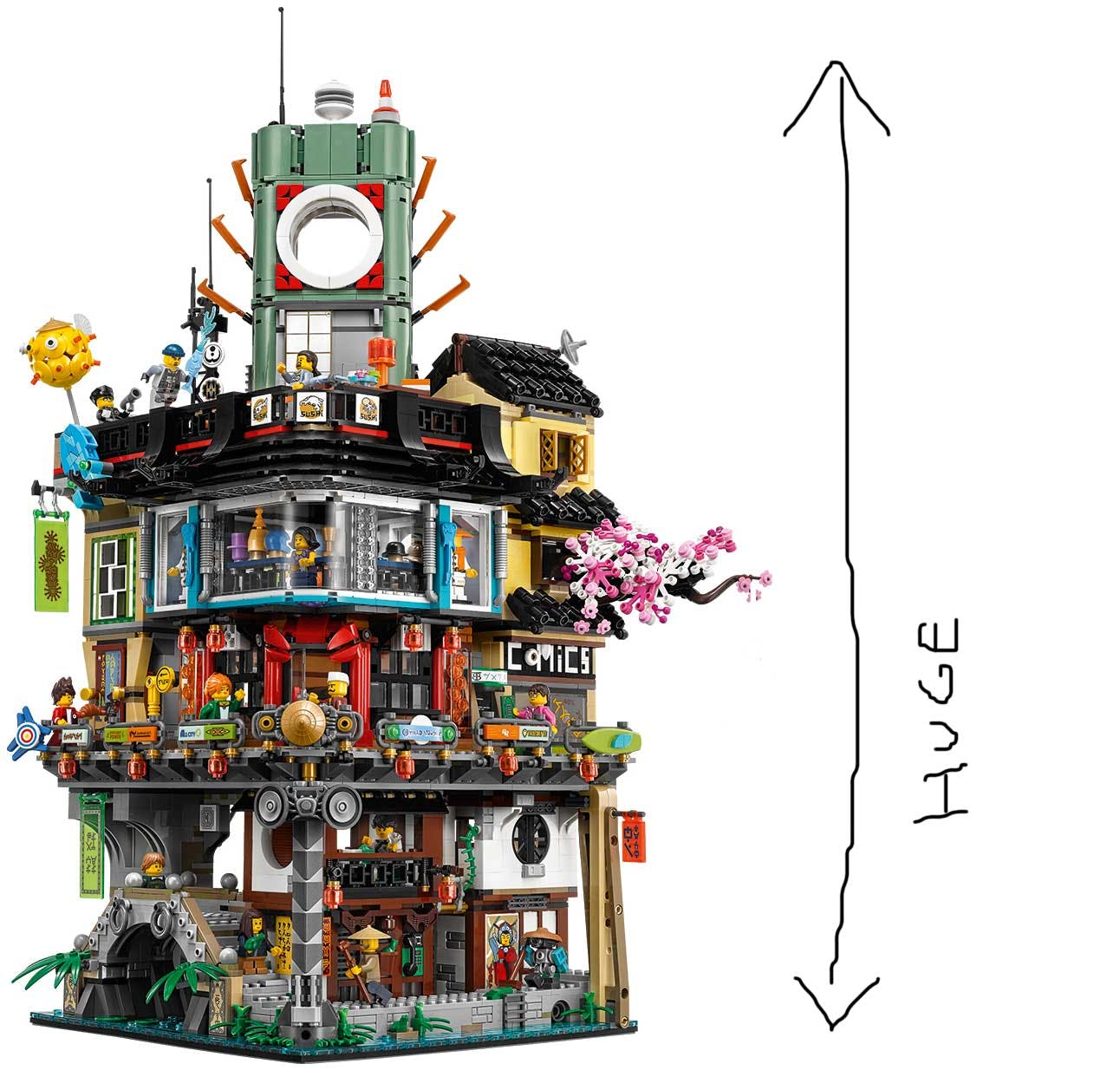 LEGO Ninjago Movie set
