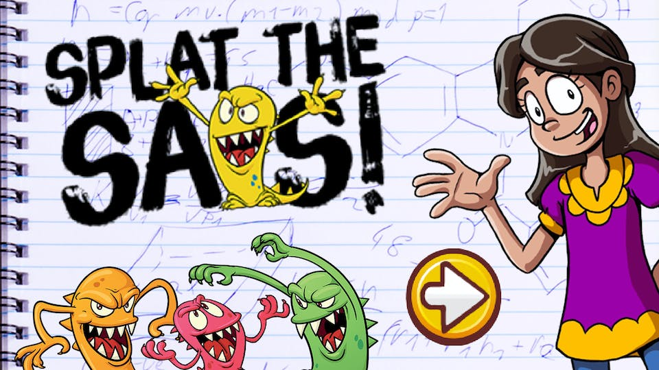 Play Splat the SATs at beano.com now!
