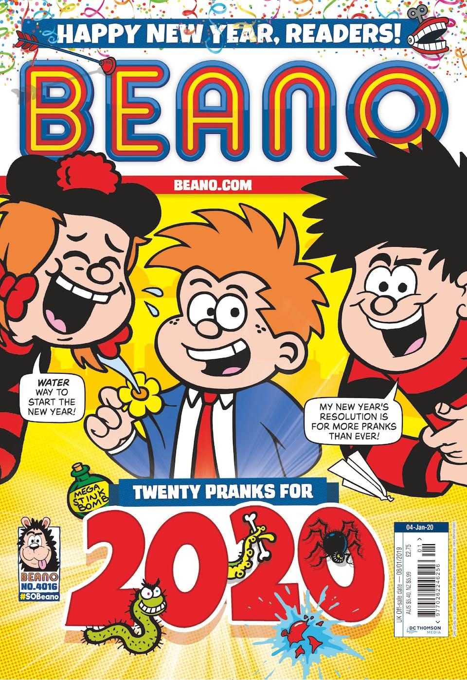 Inside Beano 4016 - 2020