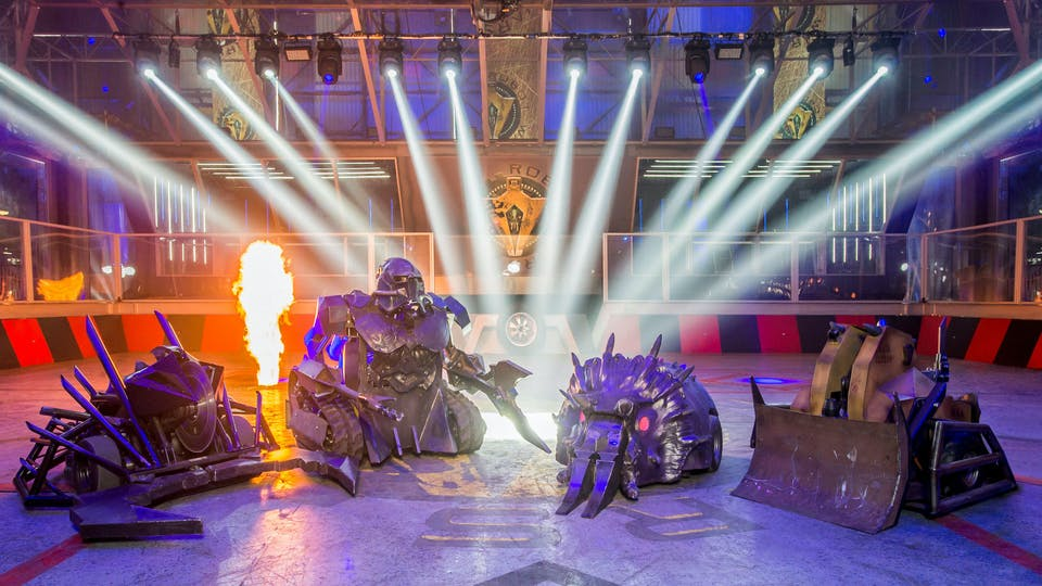 House Robots from Robot Wars