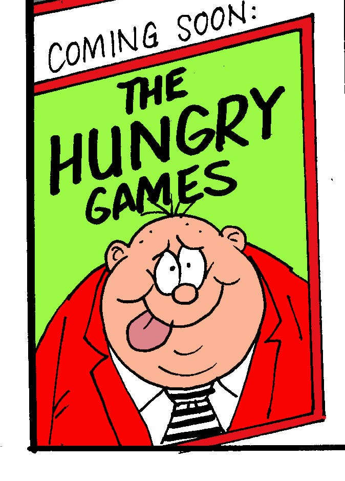 The Hungry Games with Fatty from Beano