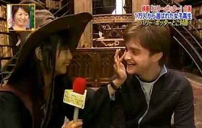 A Japanese super-fan has met all the Harry Potter stars