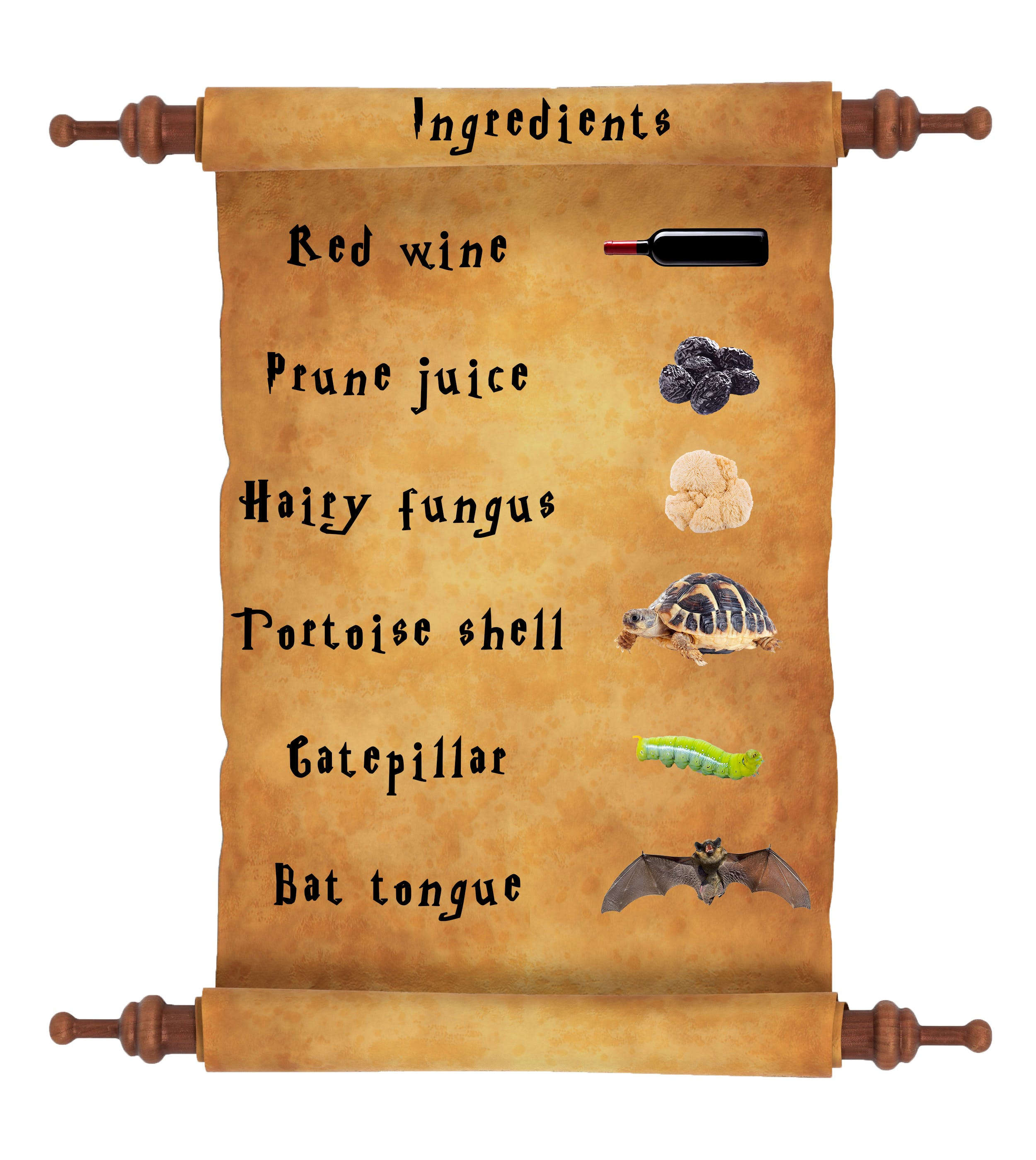 Harry Potter potions list - ageing potion ingredients