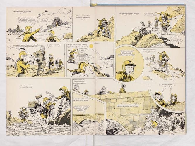 Beano Book 1970 - Q-Bikes - Page 8 + 9