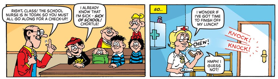 Inside Beano 4012 - The Bash Street Kids