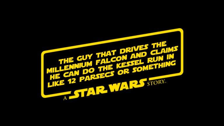 The Guy That... : A Star Wars Story