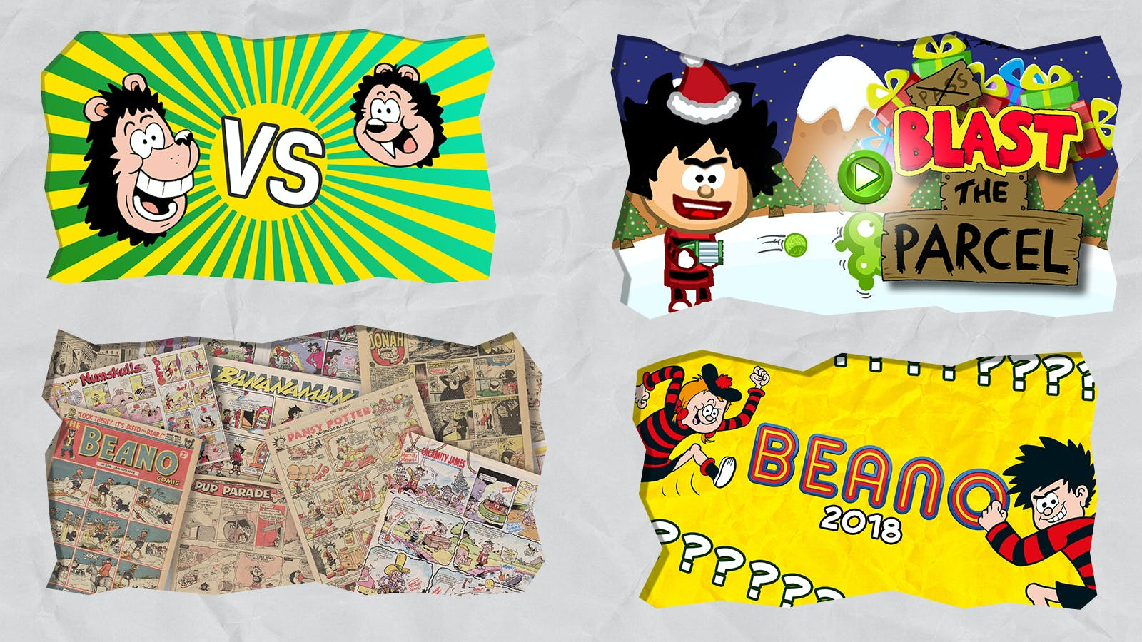 What else do YOU want on BEANO.COM?