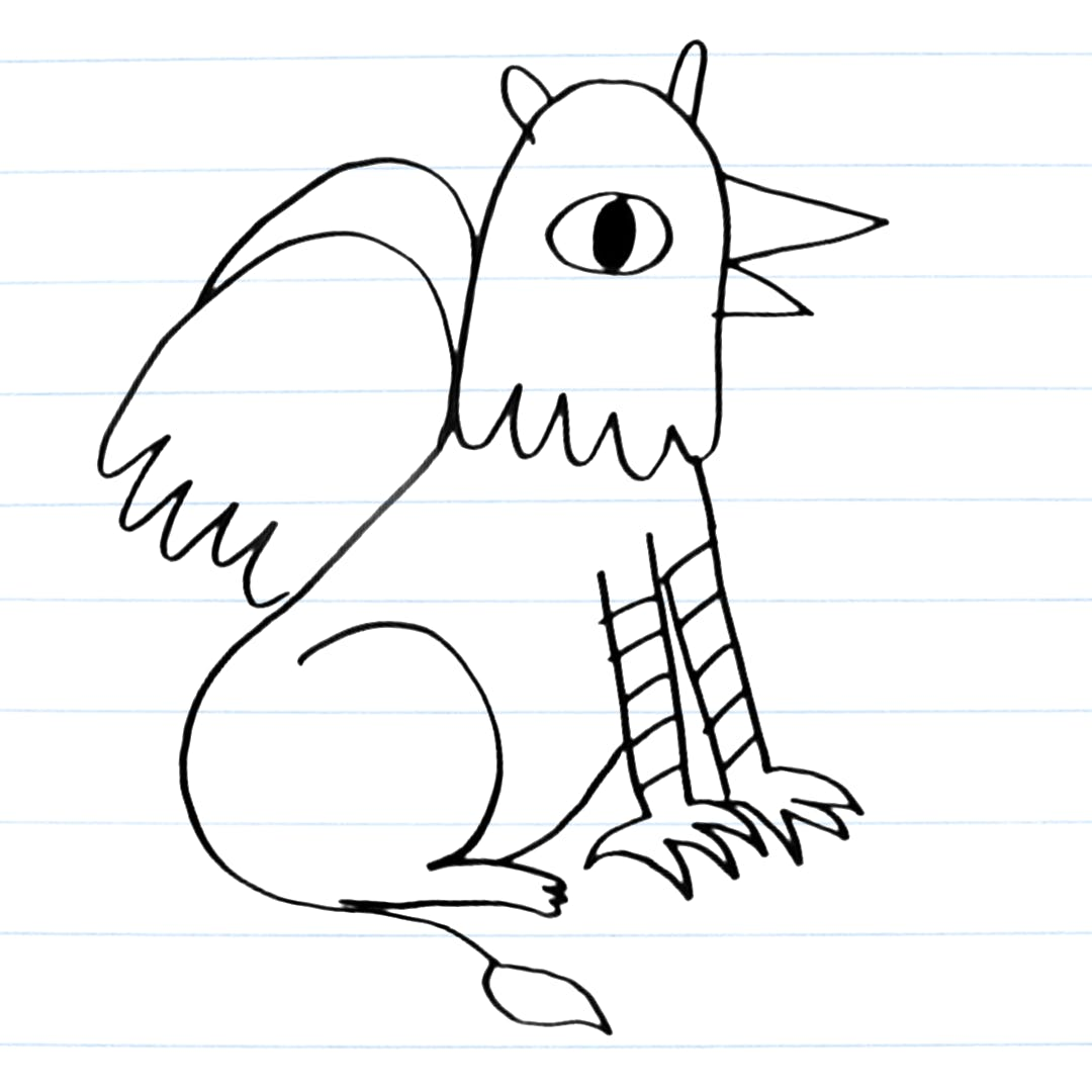 Griffin Drawing