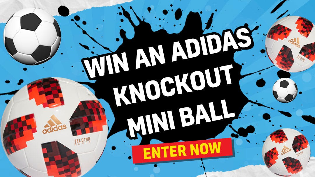 Win a World Cup Knockout Mini Ball