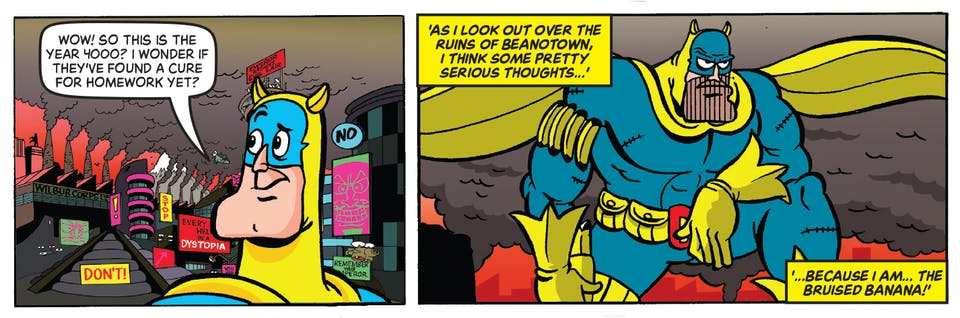 Beano Issue 4000 - Bananaman