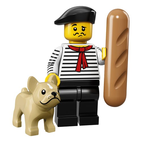 LEGO minifgs series 17 French connoisseur
