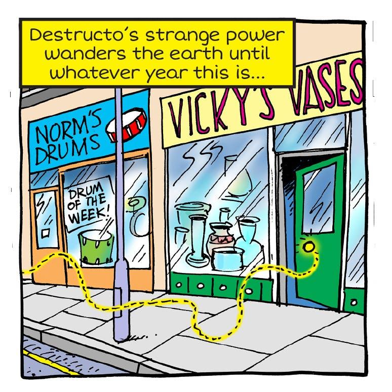 Destructive Dhruv