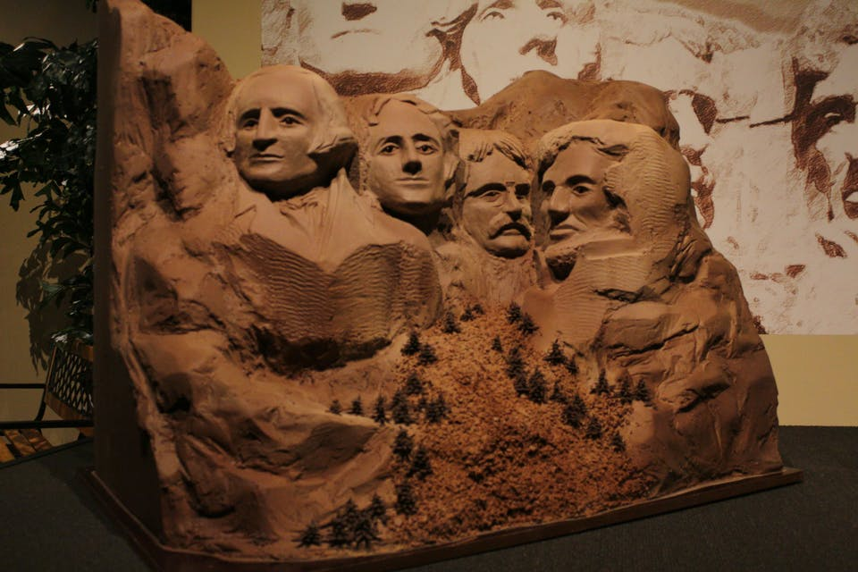 Chocolate Mount Rushmore