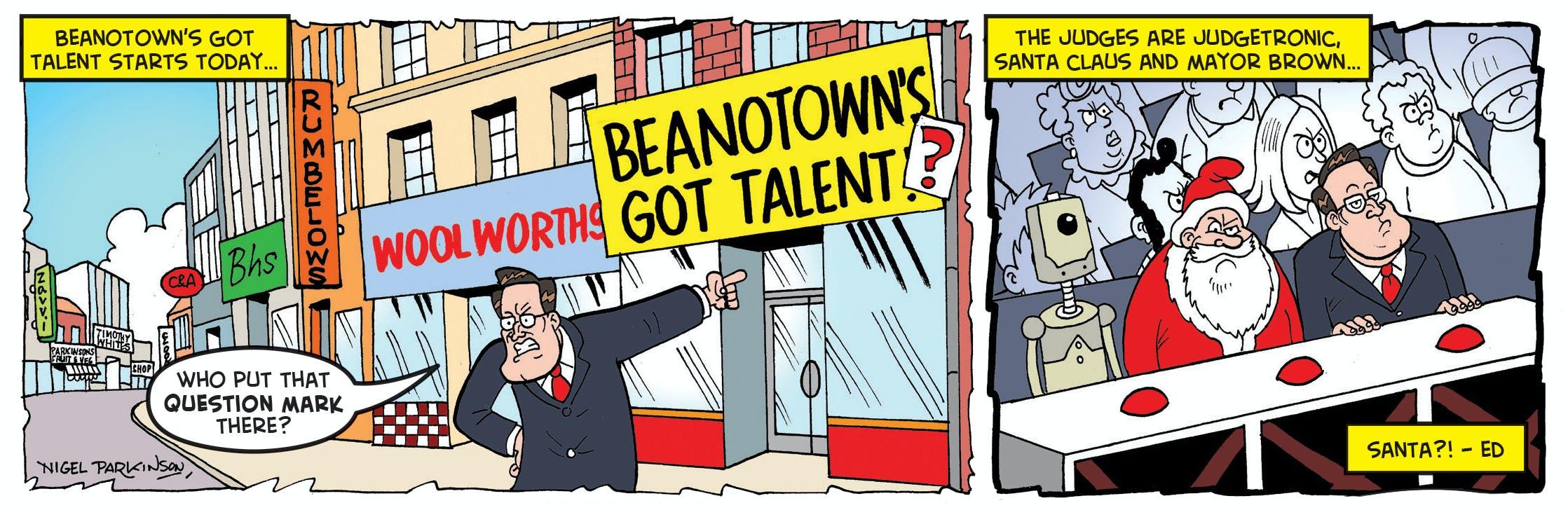 Beanotown's got talent