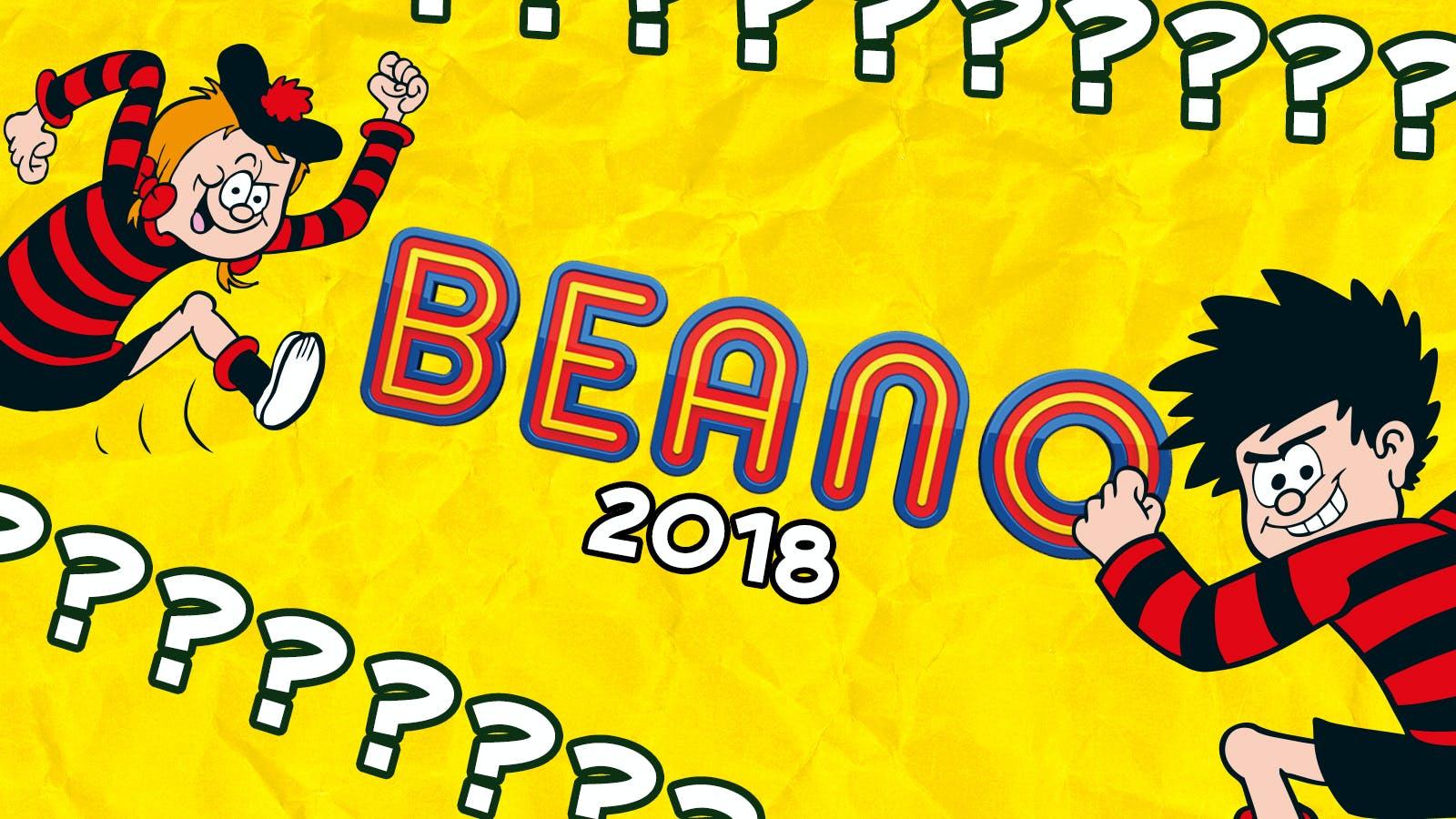 Beano Quiz 2018