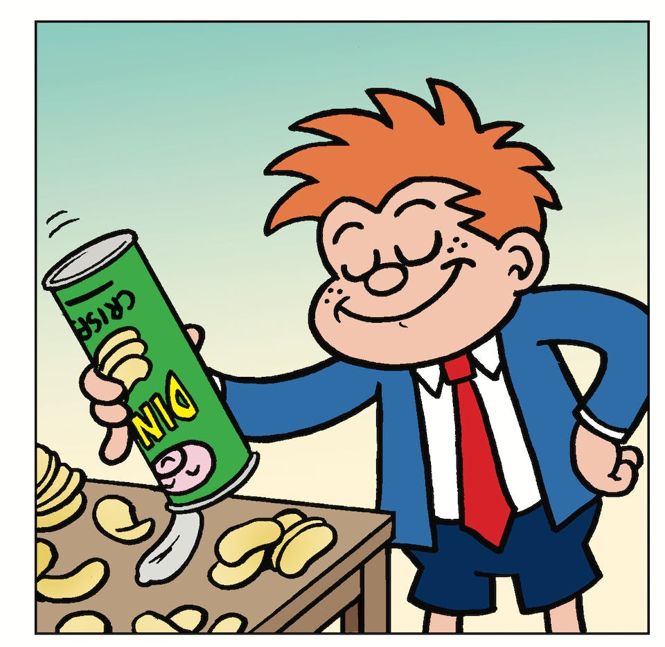 Tricky Dicky from Beano