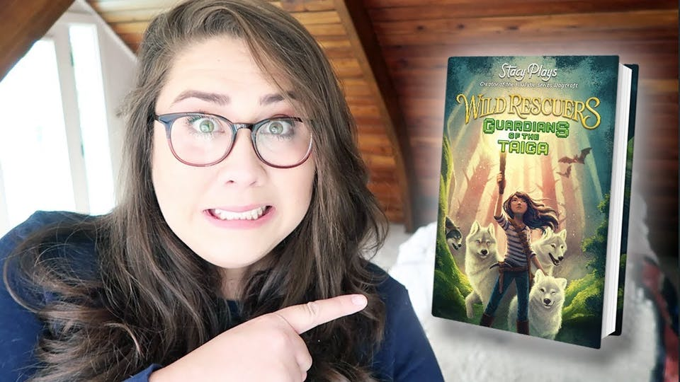 StacyPlays has written a book called Wild Rescuers: Guardians of the Taiga