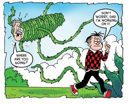 Roger's revenge of mother nature