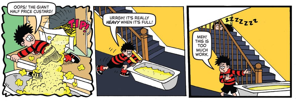 Inside Beano 3986 - Dennis and Gnasher