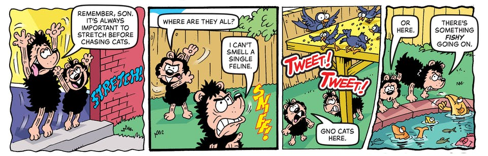 Inside Beano no. 4054 - Gnasher & Gnipper