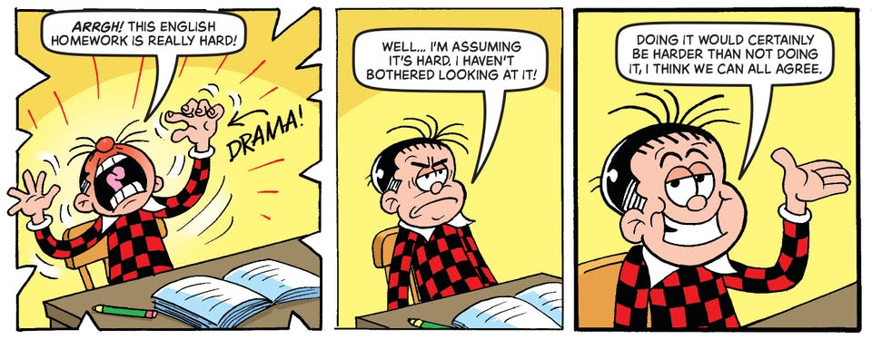 Inside Beano 4010 - Rodger the Dodger