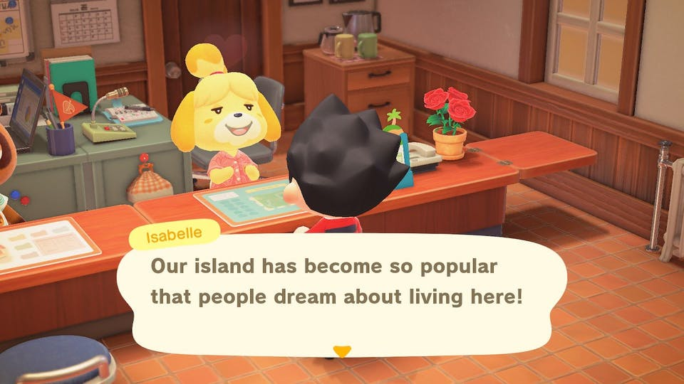 Isabelle is in charge of Beanotown