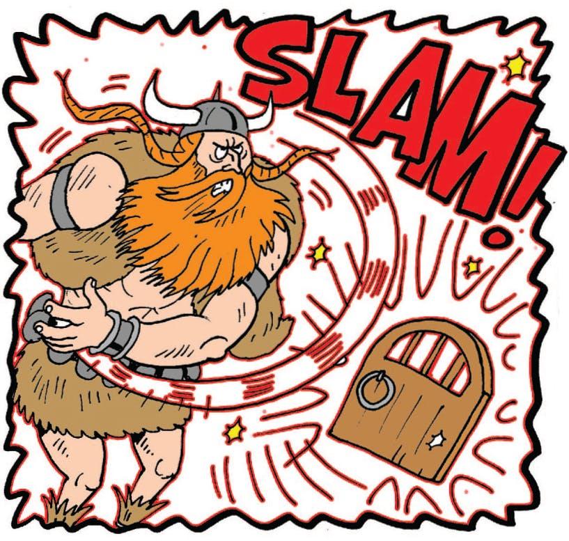 Thor slams the gate