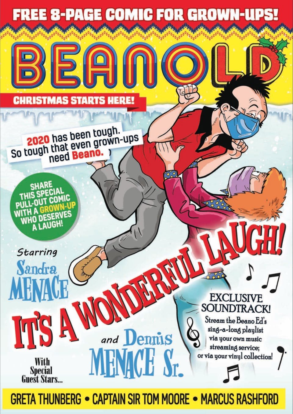 BeanOLD Issue 1 - It's a Wonderful Laugh!