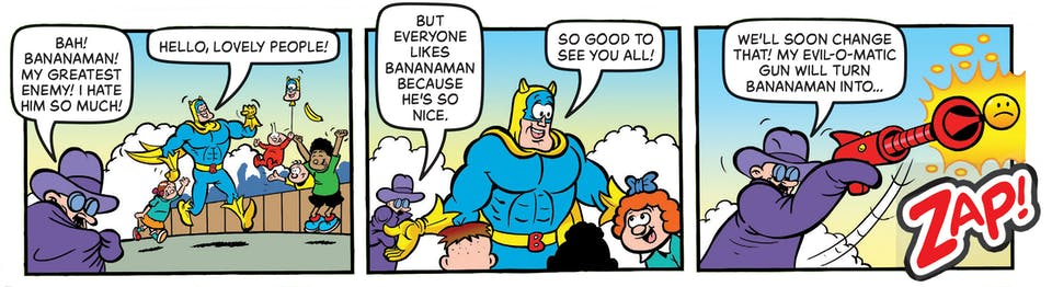 Inside Beano no. 4042 - Bananaman