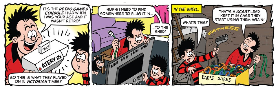 Inside Beano 4012 - Dennis and Gnasher