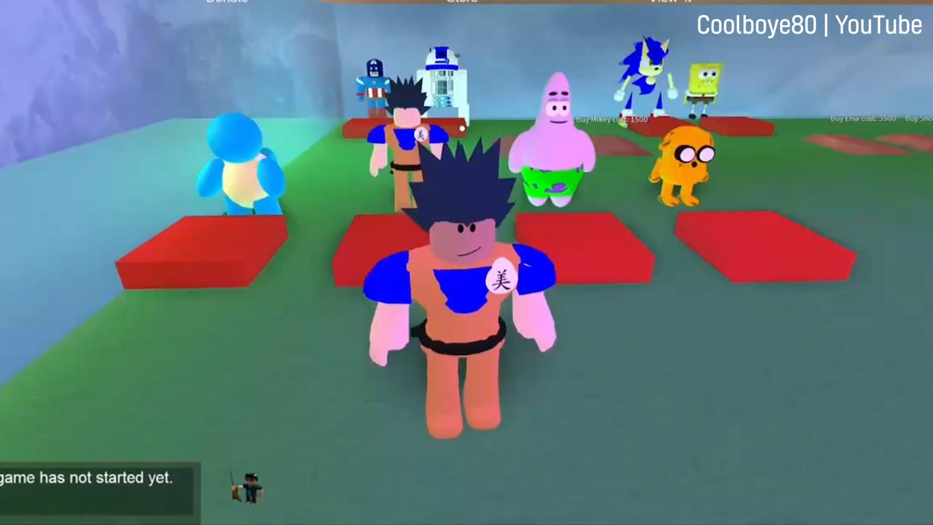 Good Roblox games: Cartoon Hide N' Seek screen grab